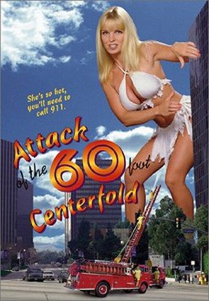 Attack of the 60 Foot Centerfold - Theatrical film poster
