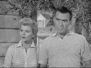 June and Ward Cleaver (Barbara Billingsley and...
