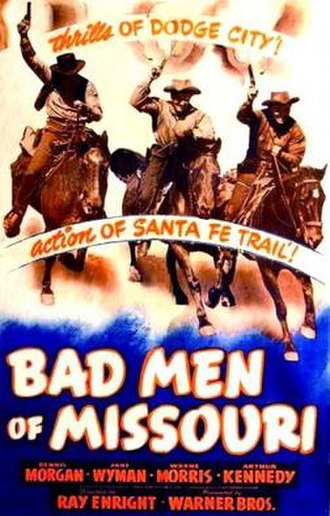 Bad Men of Missouri - Theatrical release poster