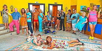 Benidorm (TV series) - Fifth series cast
