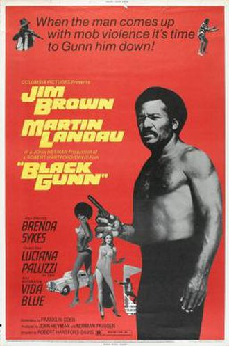 Black Gunn - Image: Black Gunn Film Poster