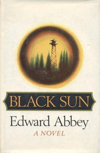 Black Sun (Abbey novel) - First edition