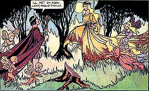 Alex Blum - Blum illustration from Classics Illustrated issue 87, A Midsummer Night's Dream