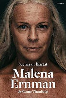 <i>Scenes from the Heart</i> 2018 autobiographic book by Malena Ernman and Svante Thunberg