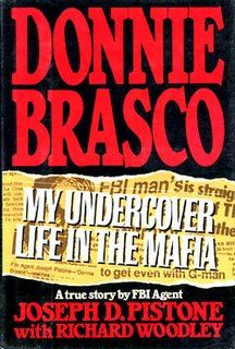<i>Donnie Brasco: My Undercover Life in the Mafia</i> book by Joseph D. Pistone
