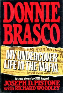 Book cover for Donnie Brasco, My Undercover Life in the Mafia.jpg