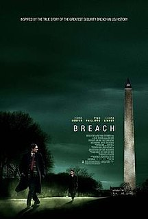 <i>Breach</i> (film) 2007 film by Billy Ray