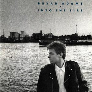 Into the Fire (album) - Image: Bryan Adams Into the Fire