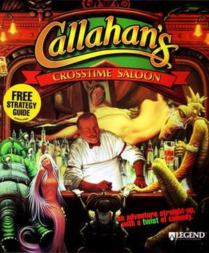 Callahan's Crosstime Saloon (video game) - Image: Callahan's Crosstime Saloon DOS Cover
