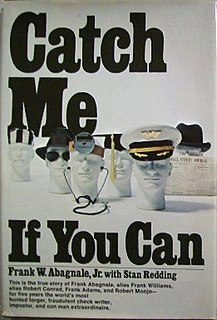 <i>Catch Me If You Can</i> (book) book by Frank Abagnale Jr