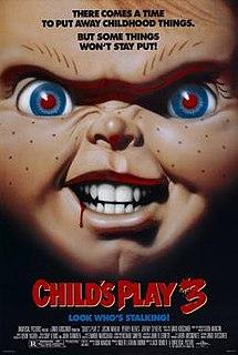 <i>Childs Play 3</i> 1991 film by Jack Bender