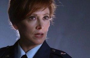 Diane Beckman - Wendy Makkena as the National Intelligence Director.