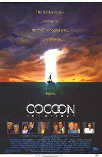 Cocoon: The Return - Promotional poster; Art by John Alvin