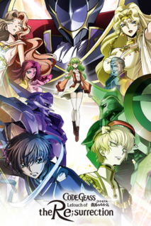 <i>Code Geass: Lelouch of the Re;surrection</i> 2019 anime film directed by Gorō Taniguchi