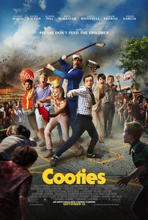 Cooties (film) - Theatrical release poster