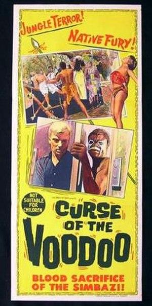 Curse of Simba - Australian film poster