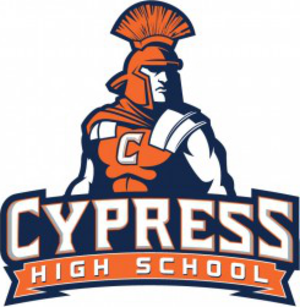 Cypress High School - 40th Anniversary Logo
