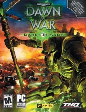 Space marines warhammer 40000 wikivisually warhammer 40000 dawn of war dark crusade image dc box art fandeluxe Choice Image