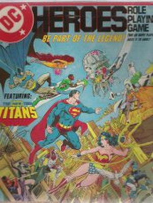 DC Heroes - Image: DC Heroes First Edition Box Cover