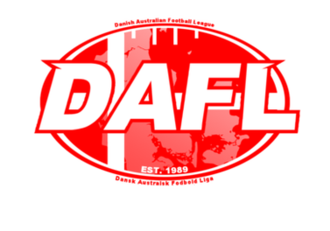 Danish Australian Football League - New DAFL Logo as of 2012