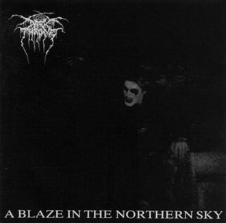 A Blaze in the Northern Sky - Image: Darkthrone A Blaze in the Northern Sky