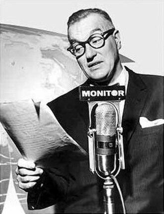 Monitor (radio program) - Monitor host Dave Garroway