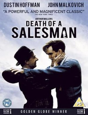 Death of a Salesman (1985 film) - DVD cover