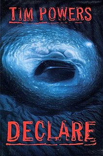 <i>Declare</i> book by Tim Powers