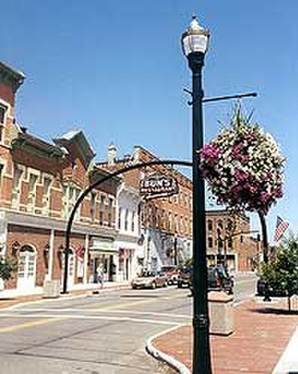 Delaware, Ohio - Downtown Delaware, Ohio on Winter Street