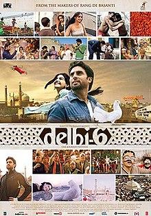 Delhi 6 (2009) SL DM - Abhishek Bachchan, Sonam Kapoor, Om Puri, Waheeda Rahman, Rishi Kapoor, Atul Kulkarni, Deepak Dobriyal and Divya Dutta