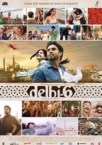 Delhi-6 - Theatrical release poster