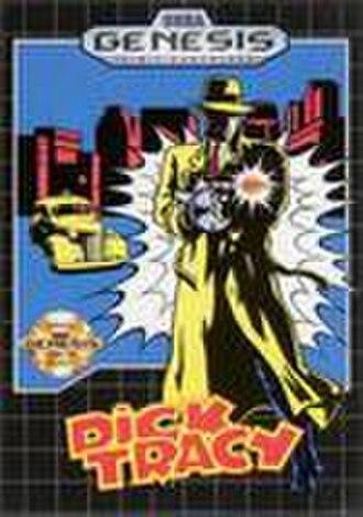 Dick Tracy (video game) - Dick Tracy Genesis box art