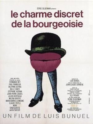 The Discreet Charm of the Bourgeoisie - Theatrical release poster