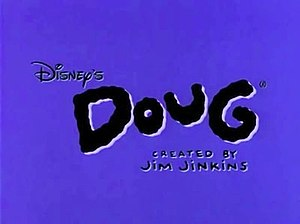 Doug (TV series) - The official title card of Disney's Doug.