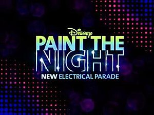 Paint the Night - Image: Disney Paint the Night Electrical Parade (Disneyland California Logo)