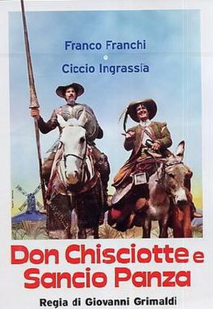 Don Chisciotte and Sancio Panza - Image: Don Chisciotte and Sancio Panza