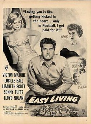 Easy Living (1949 film) - Image: Easy Living Film Poster