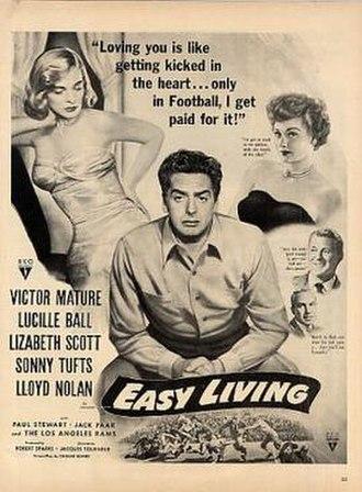 Easy Living (1949 film) - Image: Easy Living Film Poster