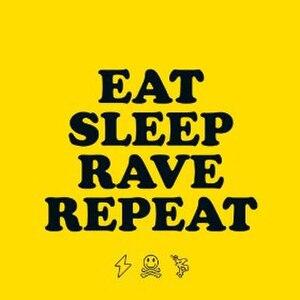 Eat, Sleep, Rave, Repeat - Image: Eat Sleep Rave Repeat