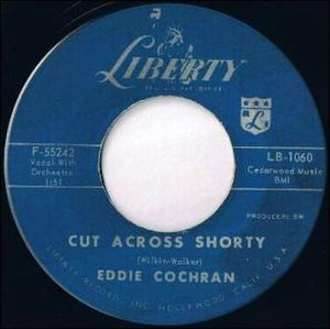 Cut Across Shorty - Image: Eddie Cochran Cut Across Shorty F 55242
