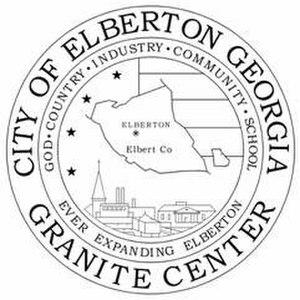 Elberton, Georgia - Image: Elberton ga seal