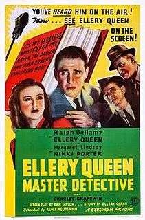 <i>Ellery Queen, Master Detective</i> 1940 American film