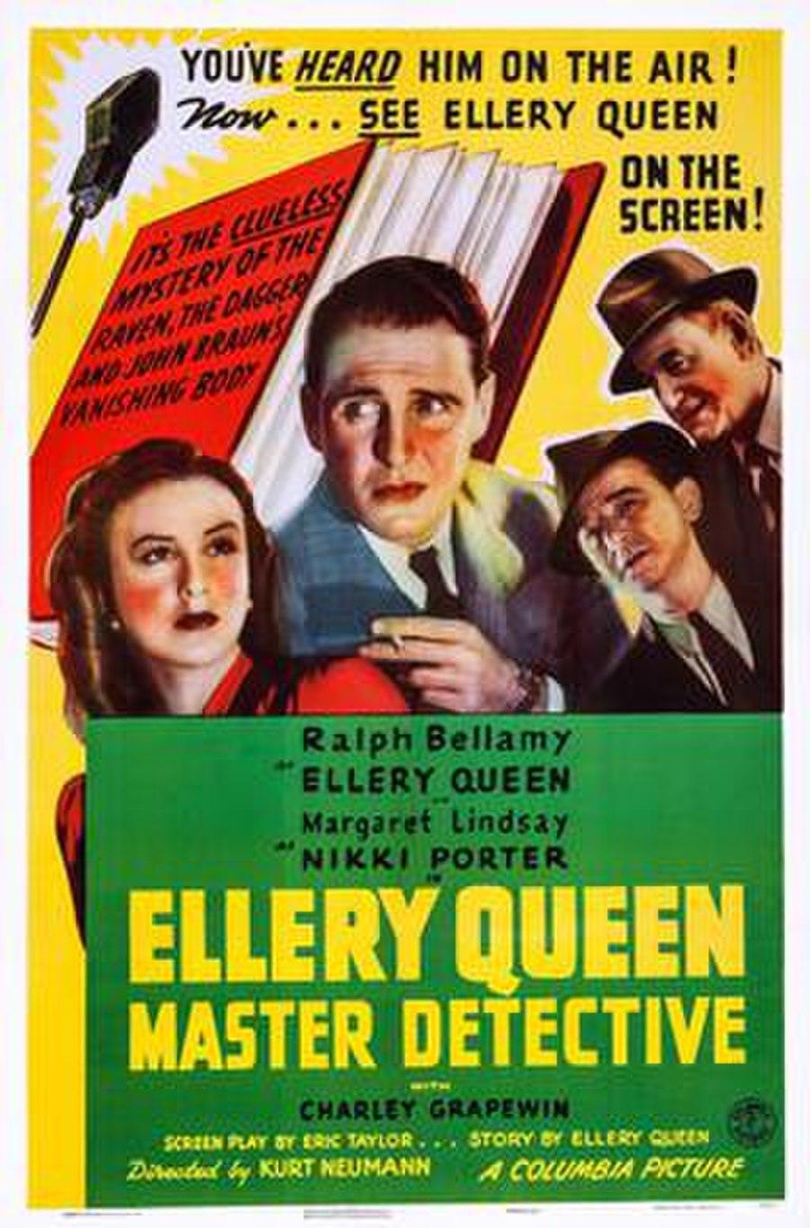 Ellery Queen, Master Detective