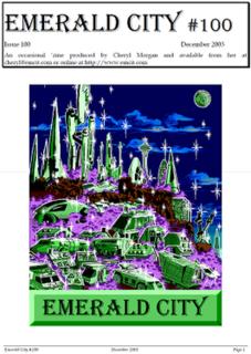 <i>Emerald City</i> (magazine)