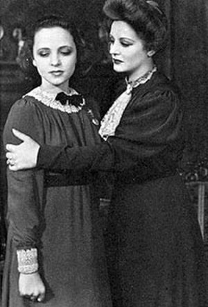 Eugenia Rawls - Rawls (left) and Tallulah Bankhead in The Little Foxes