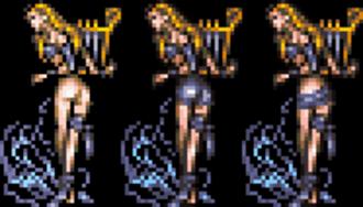 Final Fantasy VI - Image: FFVI Siren Censorship