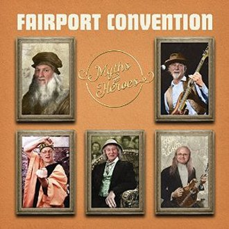 Myths and Heroes - Image: Fairport Convention Myths and Heroes album cover
