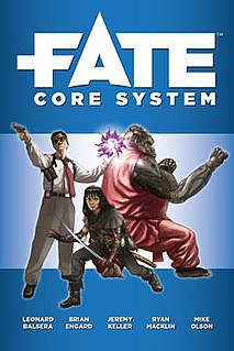 Fate (role-playing game system) generic tabletop role-playing game system