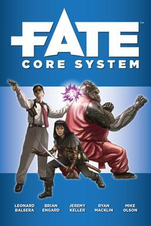 Fate (role-playing game system) - Image: Fate Core Cover (2013)