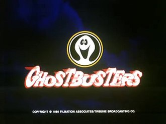 Ghostbusters (1986 TV series) - Image: Filmations Ghostbusters Logo